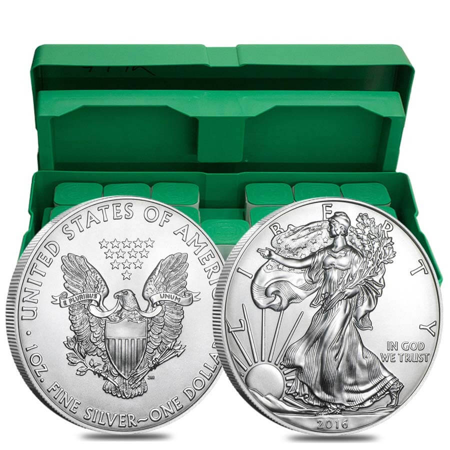 Monster Box Of 500 X 1 Oz Silver American Eagle Coin