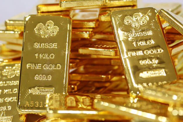 Above 5 Qty X 1 Kg Pamp Suisse Gold Cast Bar Price Per