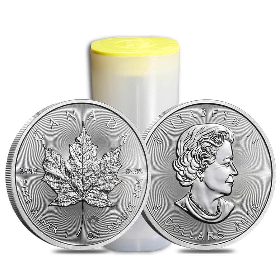 Buy Silver Canadian Maple Leaf in Malaysia