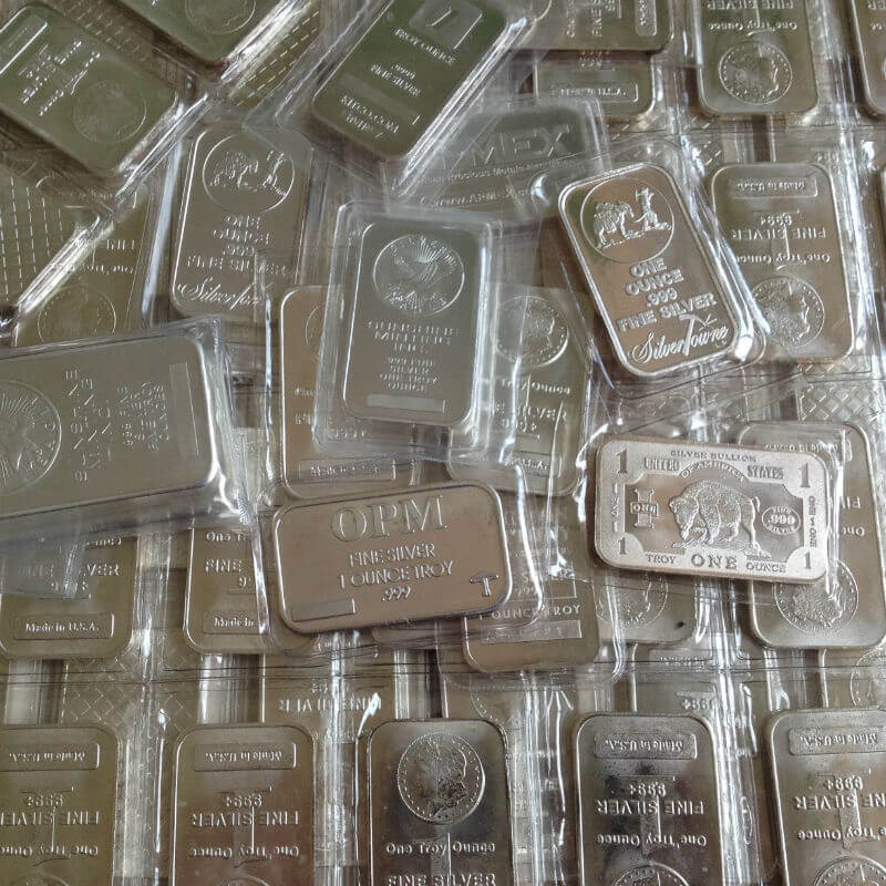 10 Oz Generic Silver Bars
