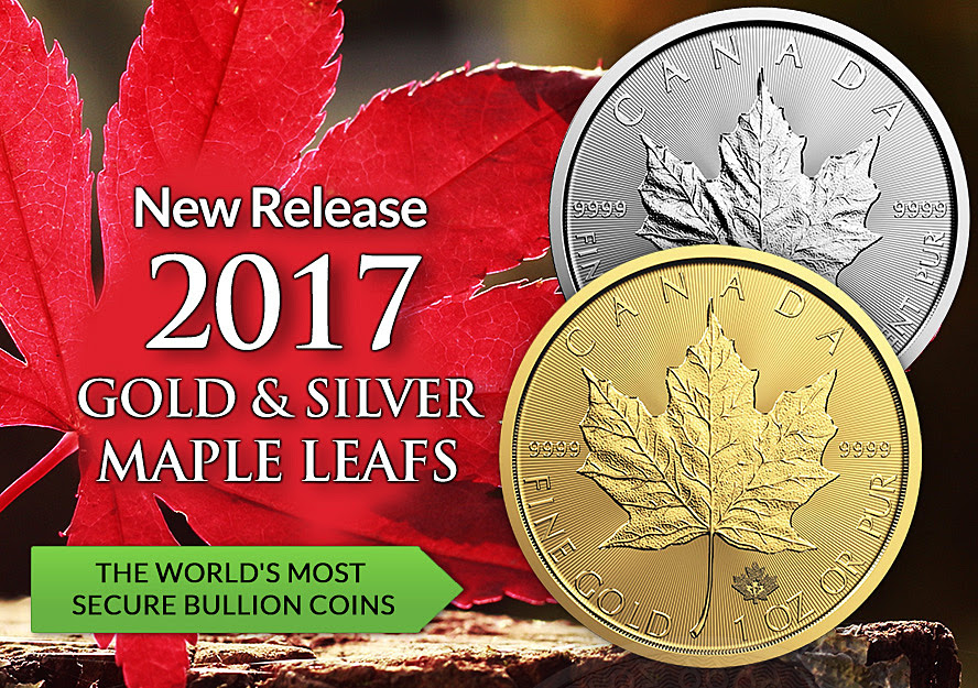 Buy Canadian Maple Leaf Gold and Silver in Kuala Lumpur