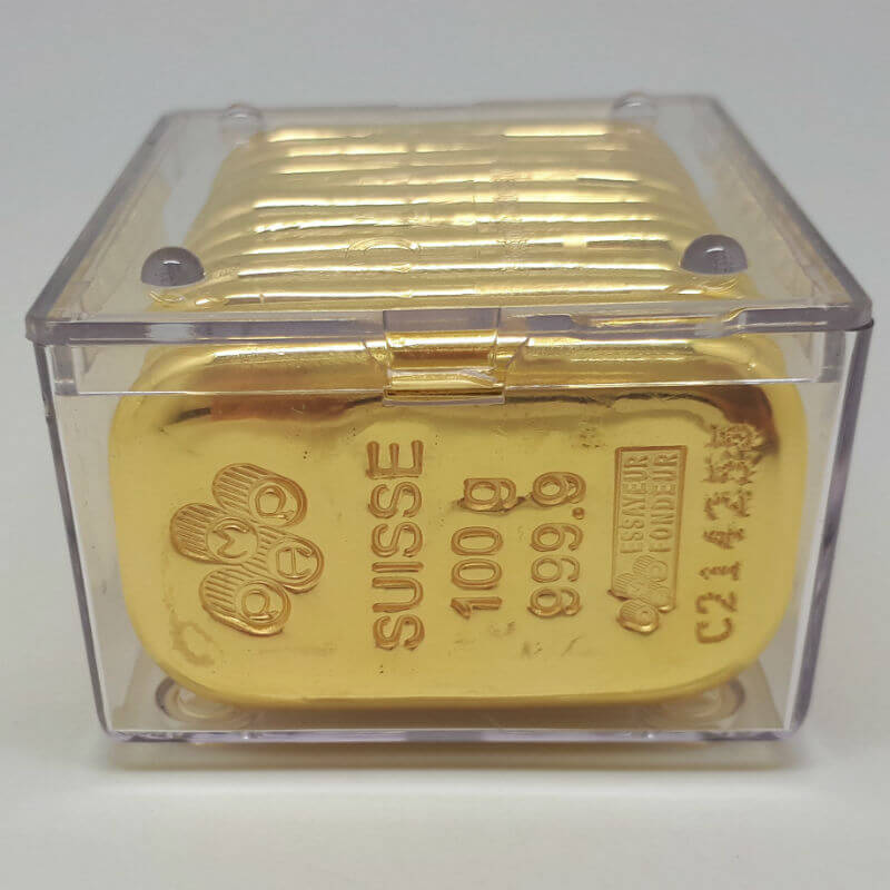 Above 10 Qty X 100 Gram Pamp Suisse Gold Cast Bar Price