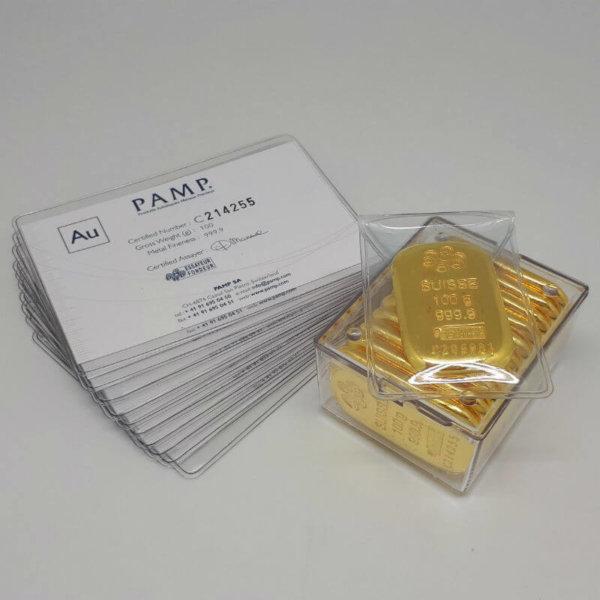buy pamp gold bar 100g at wholesale price
